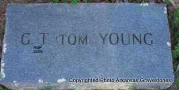 YOUNG, G T (TOM) - Scott County, Arkansas | G T (TOM) YOUNG - Arkansas Gravestone Photos