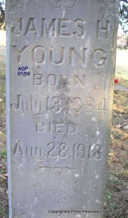 YOUNG, JAMES H - Scott County, Arkansas | JAMES H YOUNG - Arkansas Gravestone Photos