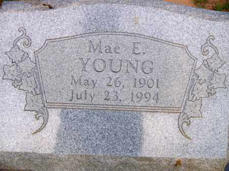 YOUNG, MAE E - Scott County, Arkansas | MAE E YOUNG - Arkansas Gravestone Photos