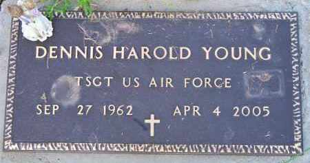 YOUNG (VETERAN), DENNIS HAROLD - Scott County, Arkansas | DENNIS HAROLD YOUNG (VETERAN) - Arkansas Gravestone Photos
