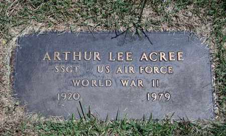 ACREE (VETERAN WWII), ARTHUR LEE - Searcy County, Arkansas | ARTHUR LEE ACREE (VETERAN WWII) - Arkansas Gravestone Photos
