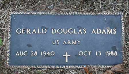 ADAMS (VETERAN), GERALD DOUGLAS - Searcy County, Arkansas | GERALD DOUGLAS ADAMS (VETERAN) - Arkansas Gravestone Photos