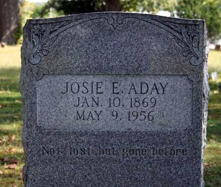 ADAY, JOSIE E. - Searcy County, Arkansas | JOSIE E. ADAY - Arkansas Gravestone Photos