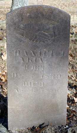 AKIN, DANIEL J. - Searcy County, Arkansas | DANIEL J. AKIN - Arkansas Gravestone Photos