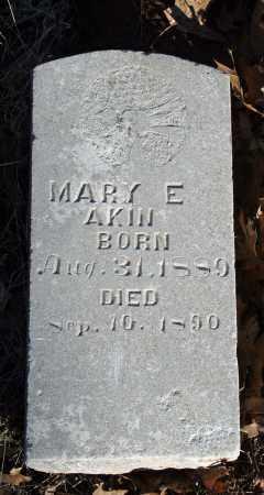 AKIN, MARY E. - Searcy County, Arkansas | MARY E. AKIN - Arkansas Gravestone Photos