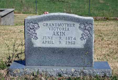 AKIN, VICTORIA - Searcy County, Arkansas | VICTORIA AKIN - Arkansas Gravestone Photos