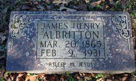 ALBRITTON, JAMES HENRY - Searcy County, Arkansas | JAMES HENRY ALBRITTON - Arkansas Gravestone Photos