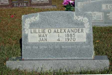 ALEXANDER, LILLIE O. - Searcy County, Arkansas | LILLIE O. ALEXANDER - Arkansas Gravestone Photos
