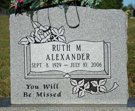 ALEXANDER, RUTH MADGE - Searcy County, Arkansas | RUTH MADGE ALEXANDER - Arkansas Gravestone Photos