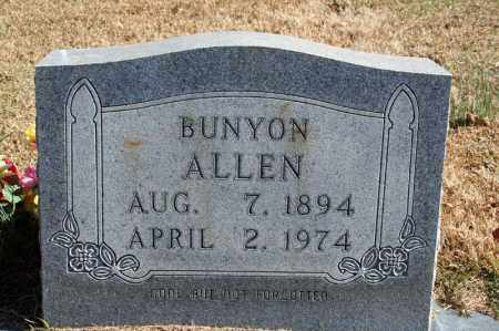ALLEN, BUNYON - Searcy County, Arkansas | BUNYON ALLEN - Arkansas Gravestone Photos