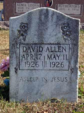 ALLEN, DAVID - Searcy County, Arkansas | DAVID ALLEN - Arkansas Gravestone Photos