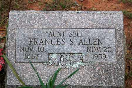 ALLEN, FRANCES S. - Searcy County, Arkansas | FRANCES S. ALLEN - Arkansas Gravestone Photos