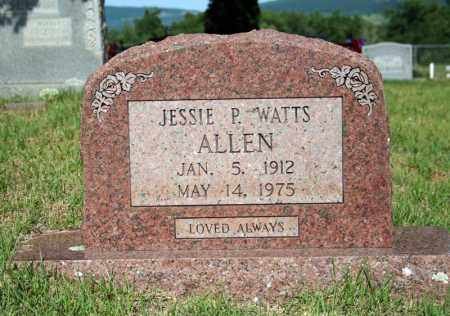 ALLEN, JESSIE P. - Searcy County, Arkansas | JESSIE P. ALLEN - Arkansas Gravestone Photos