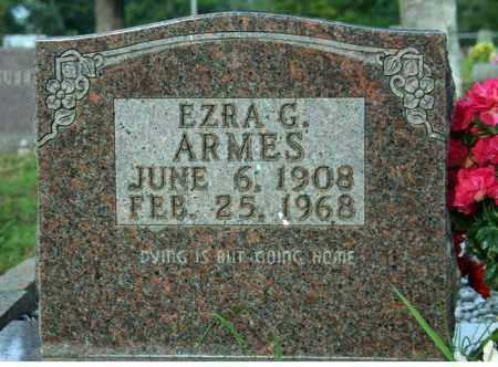 ARMES, EZRA G. - Searcy County, Arkansas | EZRA G. ARMES - Arkansas Gravestone Photos