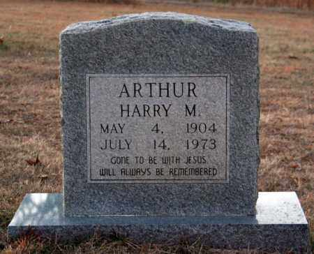 ARTHUR, HARRY M. - Searcy County, Arkansas | HARRY M. ARTHUR - Arkansas Gravestone Photos