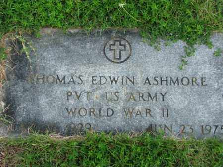 ASHMORE (VETERAN WWII), THOMAS EDWIN - Searcy County, Arkansas | THOMAS EDWIN ASHMORE (VETERAN WWII) - Arkansas Gravestone Photos