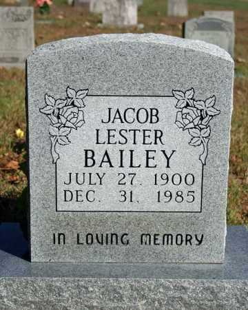 BAILEY, JACOB LESTER - Searcy County, Arkansas | JACOB LESTER BAILEY - Arkansas Gravestone Photos