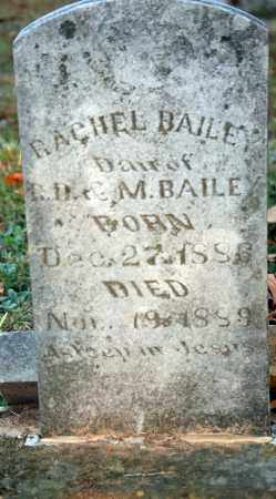 BAILEY, RACHEL - Searcy County, Arkansas | RACHEL BAILEY - Arkansas Gravestone Photos