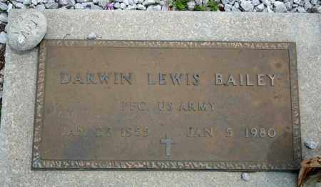 BAILEY (VETERAN), DARWIN LEWIS - Searcy County, Arkansas | DARWIN LEWIS BAILEY (VETERAN) - Arkansas Gravestone Photos