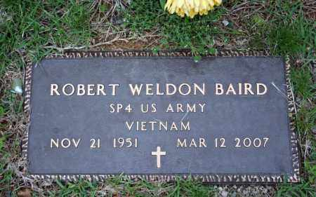 BAIRD (VETERAN VIET), ROBERT WELDON - Searcy County, Arkansas | ROBERT WELDON BAIRD (VETERAN VIET) - Arkansas Gravestone Photos