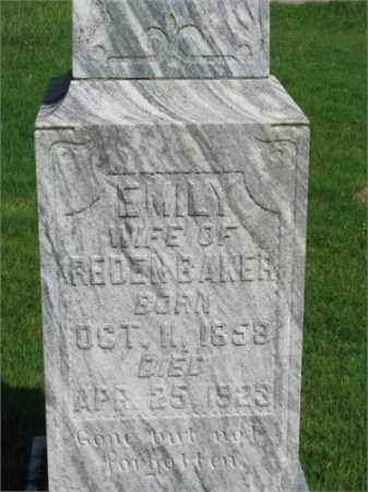 BAKER, EMILY - Searcy County, Arkansas | EMILY BAKER - Arkansas Gravestone Photos