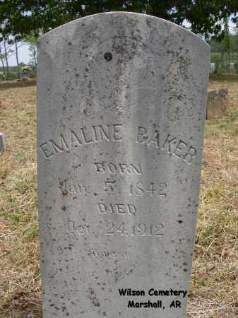 BAKER, EMALINE - Searcy County, Arkansas | EMALINE BAKER - Arkansas Gravestone Photos