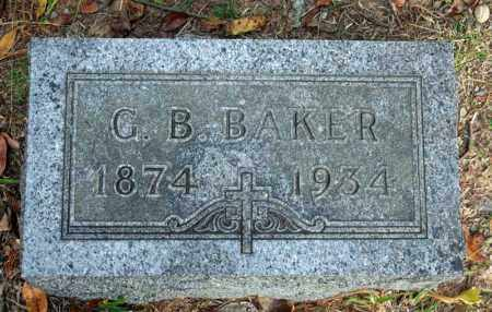 BAKER, G.B. - Searcy County, Arkansas | G.B. BAKER - Arkansas Gravestone Photos