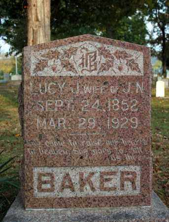 BAKER, LUCY J. - Searcy County, Arkansas | LUCY J. BAKER - Arkansas Gravestone Photos