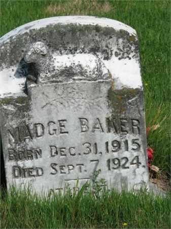 BAKER, MADGE - Searcy County, Arkansas | MADGE BAKER - Arkansas Gravestone Photos