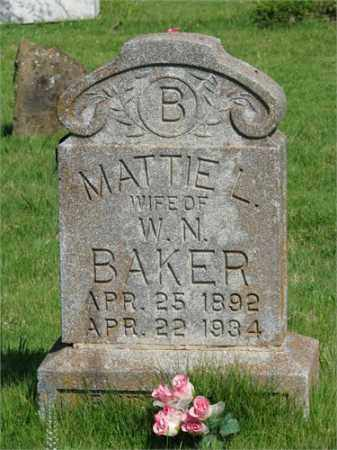 BAKER, MATTIE L. - Searcy County, Arkansas | MATTIE L. BAKER - Arkansas Gravestone Photos