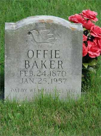 BAKER, OFFIE - Searcy County, Arkansas | OFFIE BAKER - Arkansas Gravestone Photos