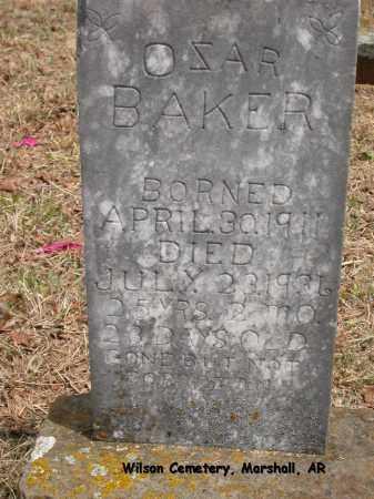 BAKER, OZAR - Searcy County, Arkansas | OZAR BAKER - Arkansas Gravestone Photos