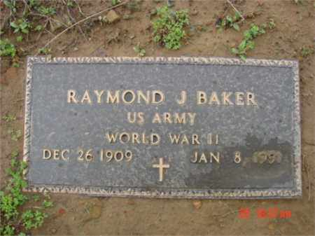 BAKER (VETERAN WWII), RAYMOND - Searcy County, Arkansas | RAYMOND BAKER (VETERAN WWII) - Arkansas Gravestone Photos