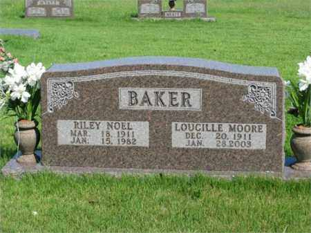 BAKER, LOUCILLE - Searcy County, Arkansas | LOUCILLE BAKER - Arkansas Gravestone Photos