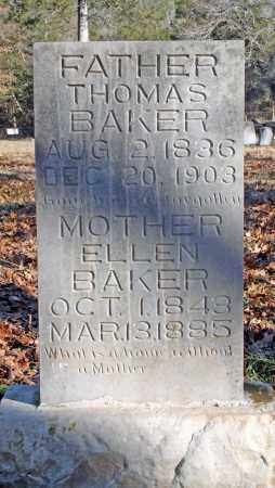 BAKER, ELLEN - Searcy County, Arkansas | ELLEN BAKER - Arkansas Gravestone Photos