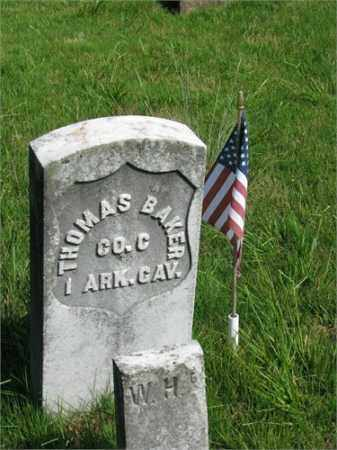 BAKER (VETERAN UNION), THOMAS - Searcy County, Arkansas | THOMAS BAKER (VETERAN UNION) - Arkansas Gravestone Photos