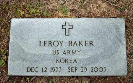 BAKER (VETERAN KOR), LEROY - Searcy County, Arkansas | LEROY BAKER (VETERAN KOR) - Arkansas Gravestone Photos