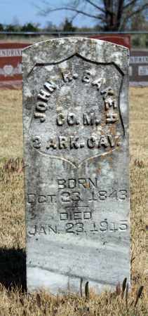 BAKER (VETERAN UNION), JOHN R - Searcy County, Arkansas | JOHN R BAKER (VETERAN UNION) - Arkansas Gravestone Photos