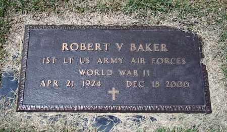 BAKER (VETERAN WWII), ROBERT V - Searcy County, Arkansas | ROBERT V BAKER (VETERAN WWII) - Arkansas Gravestone Photos