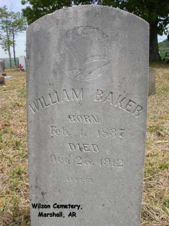 BAKER, WILLIAM - Searcy County, Arkansas | WILLIAM BAKER - Arkansas Gravestone Photos