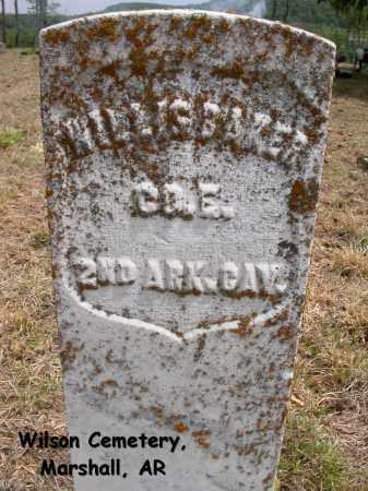 BAKER (VETERAN), WILLIS - Searcy County, Arkansas | WILLIS BAKER (VETERAN) - Arkansas Gravestone Photos
