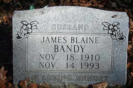 BANDY, JAMES BLAINE - Searcy County, Arkansas | JAMES BLAINE BANDY - Arkansas Gravestone Photos