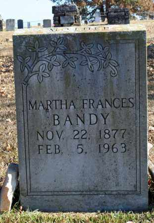 BANDY, MARTHA FRANCES - Searcy County, Arkansas | MARTHA FRANCES BANDY - Arkansas Gravestone Photos