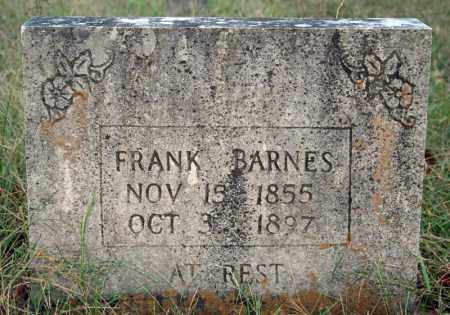 BARNES, FRANK - Searcy County, Arkansas | FRANK BARNES - Arkansas Gravestone Photos