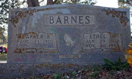 DICKEY BARNES, ETHEL M. - Searcy County, Arkansas | ETHEL M. DICKEY BARNES - Arkansas Gravestone Photos