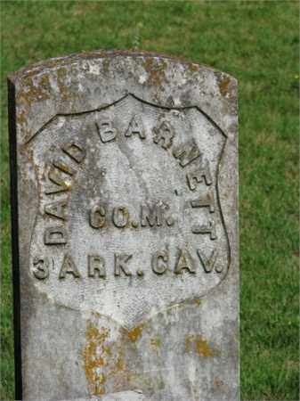 BARNETT (VETERAN UNION), DAVID - Searcy County, Arkansas | DAVID BARNETT (VETERAN UNION) - Arkansas Gravestone Photos