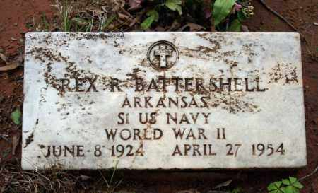 BATTERSHELL (VETERAN WWII), REX R - Searcy County, Arkansas | REX R BATTERSHELL (VETERAN WWII) - Arkansas Gravestone Photos