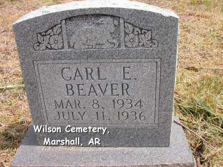 BEAVER, CARL EDSEL - Searcy County, Arkansas | CARL EDSEL BEAVER - Arkansas Gravestone Photos