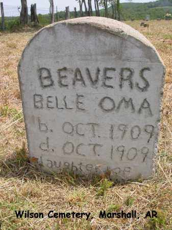 BEAVERS, BELLE OMA - Searcy County, Arkansas | BELLE OMA BEAVERS - Arkansas Gravestone Photos