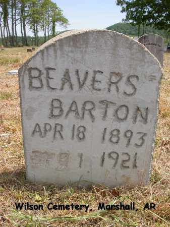 BEAVERS, BARTON - Searcy County, Arkansas | BARTON BEAVERS - Arkansas Gravestone Photos
